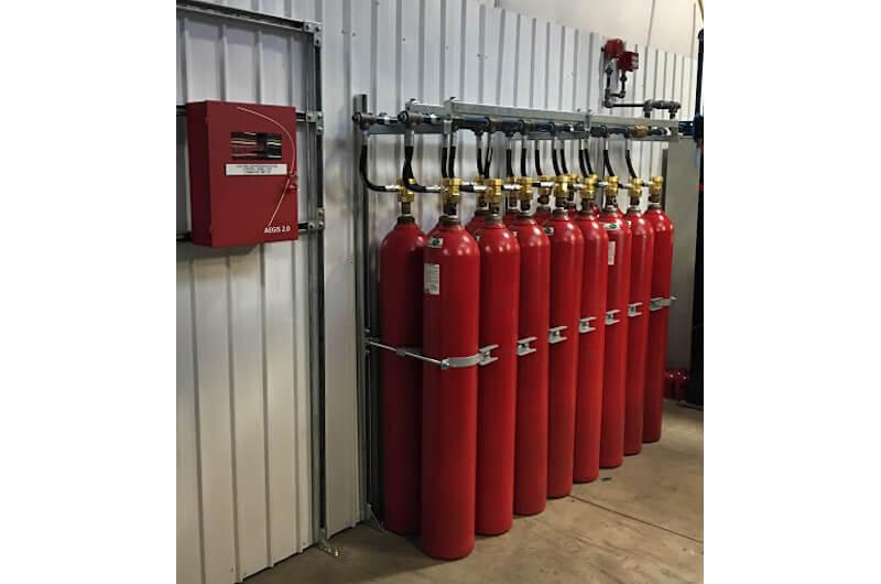 سیستم اطفای حریق گازی FM200