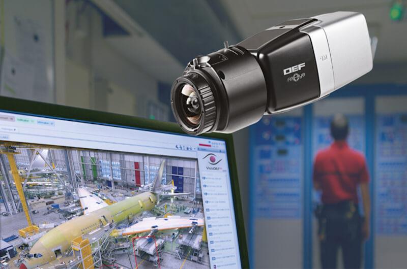 تشخیص حریق با نظارت تصویری (Video detector)