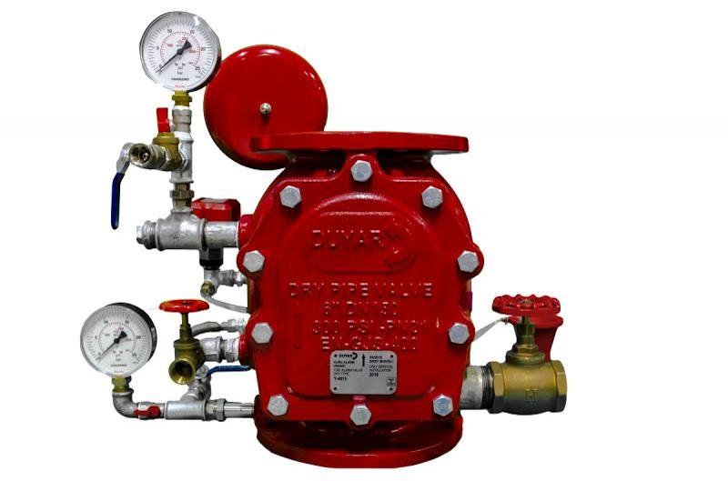 شیر یک طرفه خشک (Dry Alarm Valve) مدل Y-4015